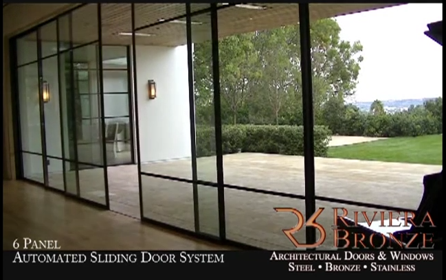 6 Panel Automated Sliding Door System